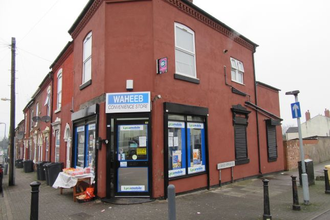 Retail premises for sale in St Saviours Road, Alum Rock, Birmingham, West Midlands