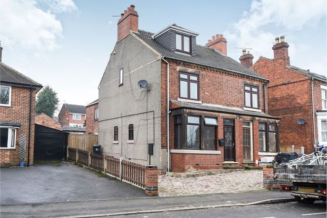 Thumbnail Semi-detached house for sale in Derby Road, Marehay, Ripley