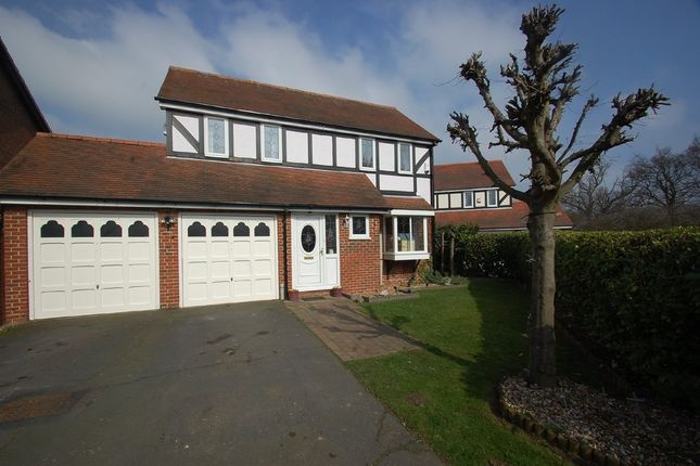 Thumbnail Detached house for sale in Rye Close, Stanway, Colchester