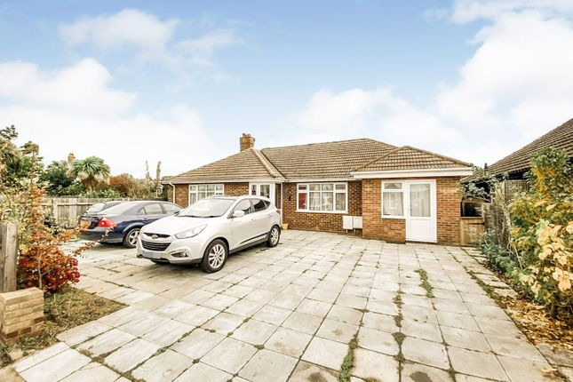 Thumbnail Detached bungalow for sale in Garrison Lane, Felixstowe