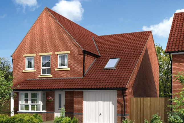 "Thumbnail Detached house for sale in ""Harrogate"" at Blackpool Road, Kirkham, Preston"