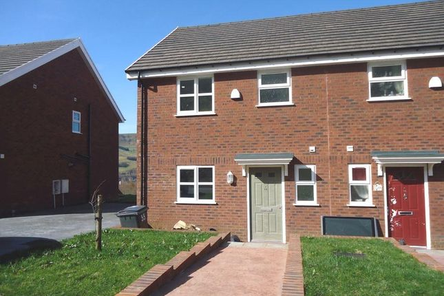 Thumbnail Semi-detached house to rent in Oak Road, Blaina, Abertillery