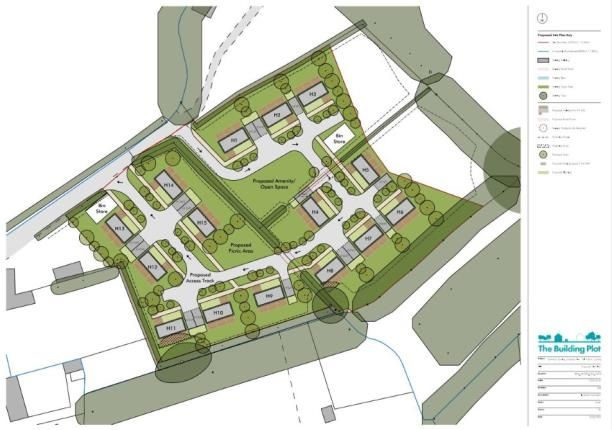 Thumbnail Land for sale in Tal Y Bont, Conwy, North Wales