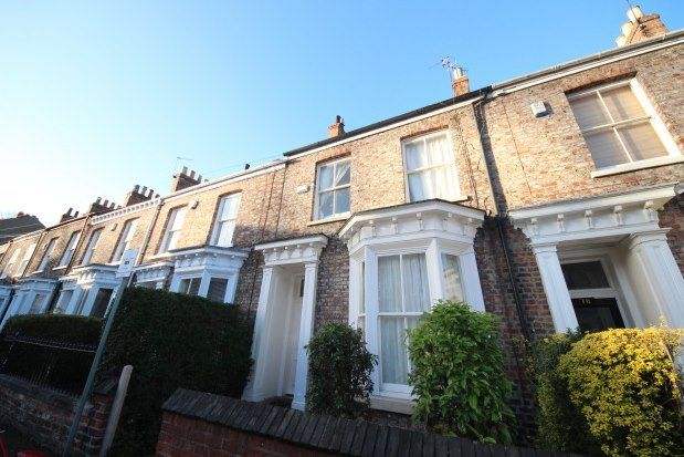 Thumbnail Terraced house to rent in St. Johns Street, York