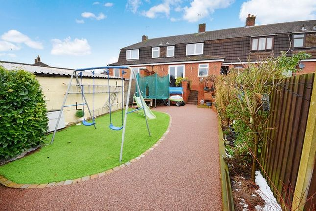 Thumbnail Mews house for sale in Spring Crescent, Brown Edge, Stoke-On-Trent