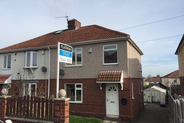 Thumbnail Semi-detached house to rent in Becknoll Road, Brampton, Barnsley