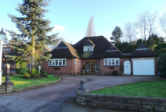 Thumbnail Detached bungalow for sale in Waters Drive, Four Oaks, Sutton Coldfield