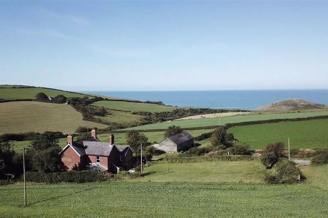 Thumbnail Detached house for sale in Near Mwnt, Ferwig, Ceredigion