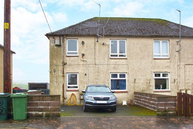 1 bed flat for sale in Polquheys Road, New Cumnock KA18