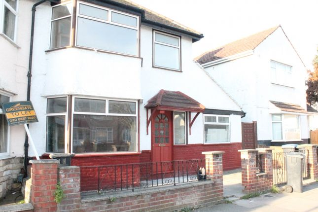 Thumbnail Semi-detached house to rent in Lion Road, London