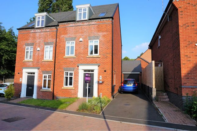 Thumbnail Semi-detached house for sale in Perrott Way, Birmingham