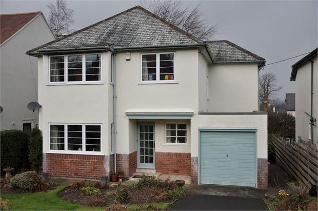 Thumbnail Detached house for sale in Glenariff, Elvaston Drive, Hexham