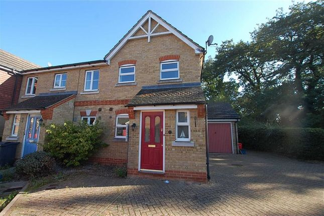 Thumbnail Terraced house to rent in Old Bourne Way, Stevenage, Hertfordshire