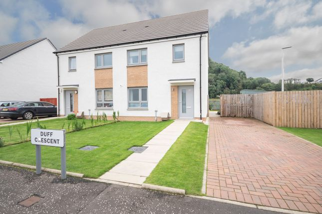 3 bed semi-detached house for sale in Duff Crescent, Stirling FK8