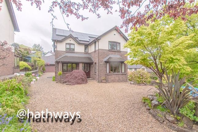 Thumbnail Detached house for sale in Bryn Carreg, Harpers Road, Garndiffaith, Pontypool