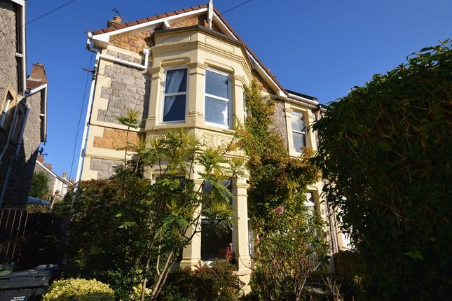 Thumbnail Semi-detached house for sale in Ashcombe Gardens, Weston-Super-Mare