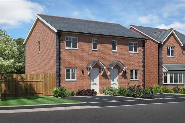 Thumbnail Semi-detached house for sale in Plot 9, Heritage Green, Forden, Welshpool, Powys
