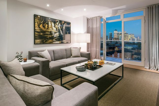 Thumbnail Flat for sale in Marine Wharf East, Plough Way, Surrey Quays, London