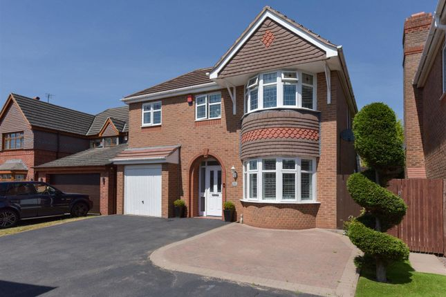 Thumbnail Detached house for sale in Pagoda Close, Streetly, Sutton Coldfield