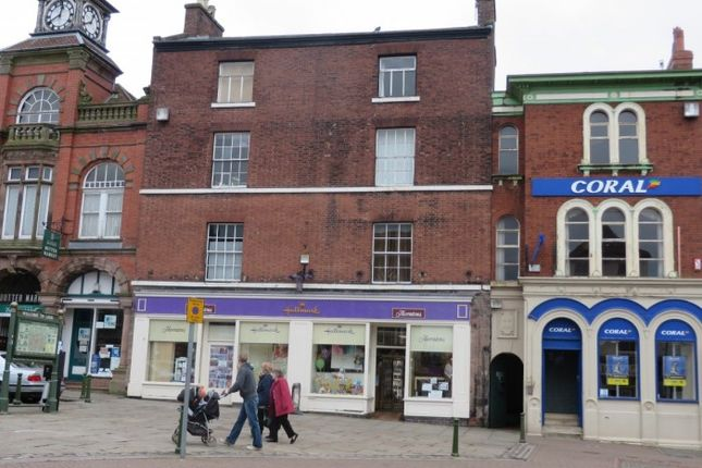 Thumbnail Land for sale in 9 And 10 Market Place, Leek, Staffordshire