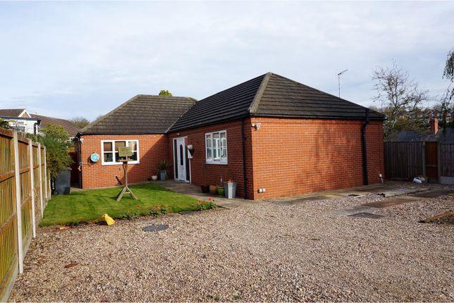 Thumbnail Detached bungalow for sale in Surgeys Lane, Arnold