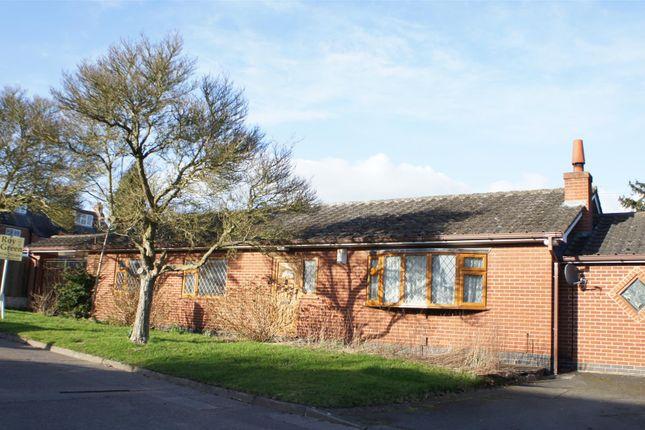 Thumbnail Detached bungalow for sale in Sandham Bridge Road, Cropston, Leicester
