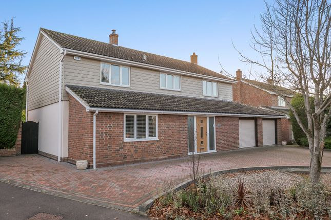 Thumbnail Detached house for sale in Hurnard Drive, Colchester