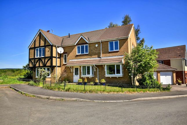 Thumbnail Detached house for sale in Wallwern Wood, Chepstow
