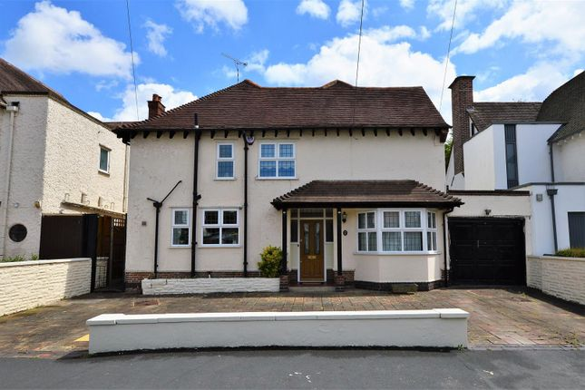 Thumbnail Detached house for sale in Woodland Avenue, Earlsdon, Coventry
