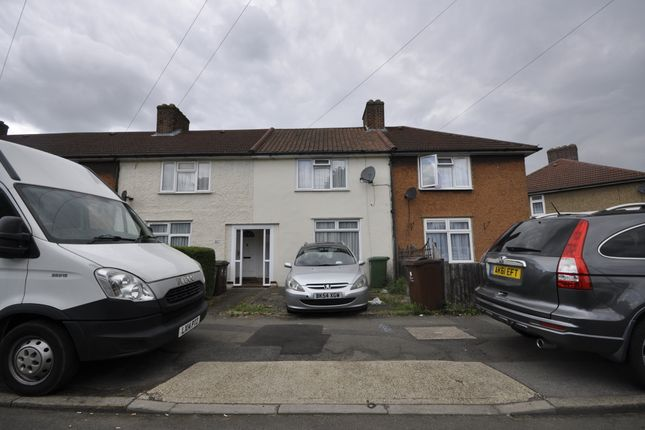 Thumbnail Terraced house to rent in Rogers Road, Dagenham