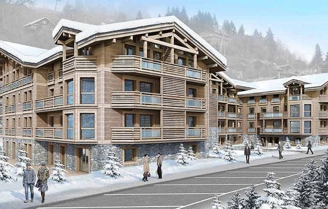 Thumbnail Apartment for sale in Les Gets, France