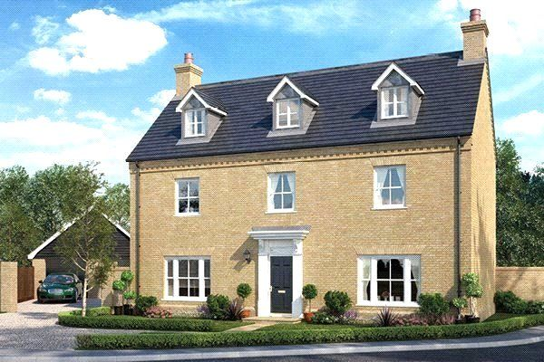 Thumbnail Detached house for sale in Kingley Grove, New Road, Melbourn, Royston, Cambridgeshire