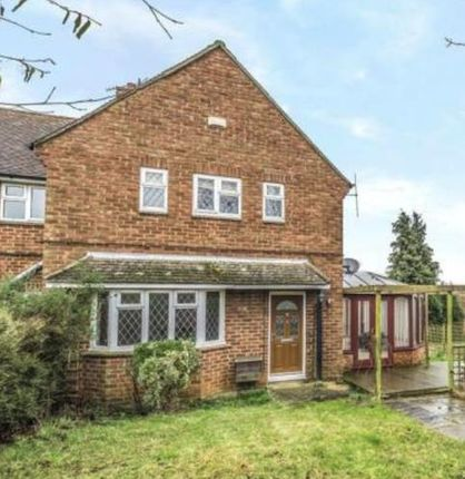 Thumbnail Semi-detached house to rent in The Close, Weston Underwood, Olney