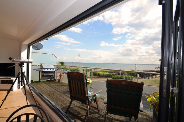 Thumbnail Terraced house for sale in Chalkwell Esplanade, Westcliff-On-Sea