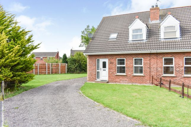 Thumbnail Semi-detached house for sale in 29 Willowfield Crescent, Craigavon, Co. Armagh
