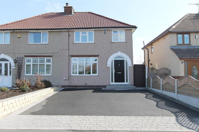 Thumbnail Semi-detached house for sale in Little Morton Road, North Wingfield, Chesterfield