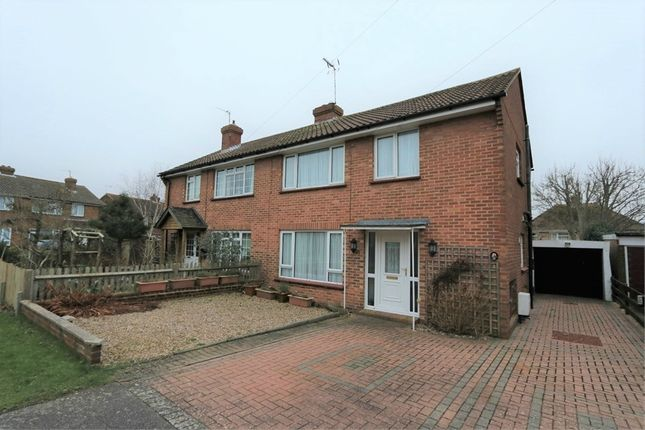 Thumbnail Semi-detached house to rent in Gilda Crescent, Polegate, East Sussex