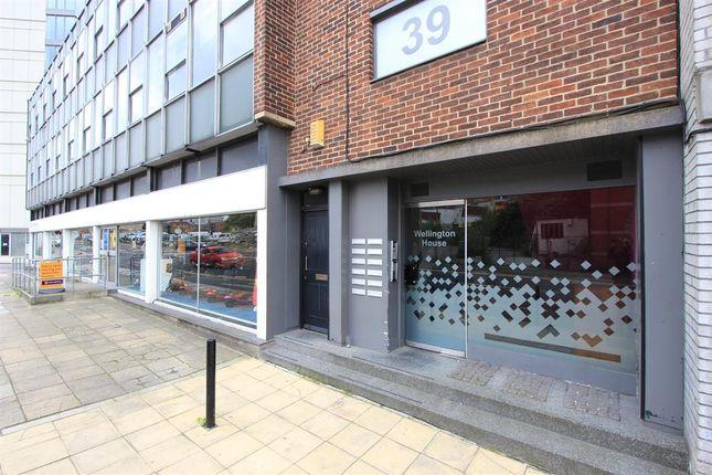 Entrance of Wellington Street, Sheffield S1