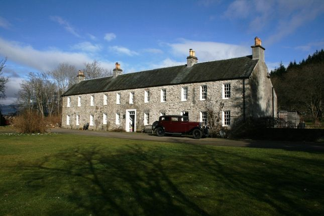 Thumbnail Detached house for sale in Private Road, Ballinluig Near Pitlochry