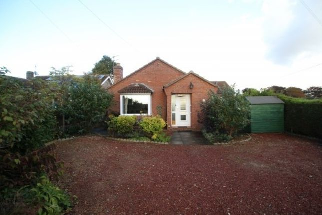 Thumbnail Detached bungalow to rent in South Parade, Caythorpe, Grantham