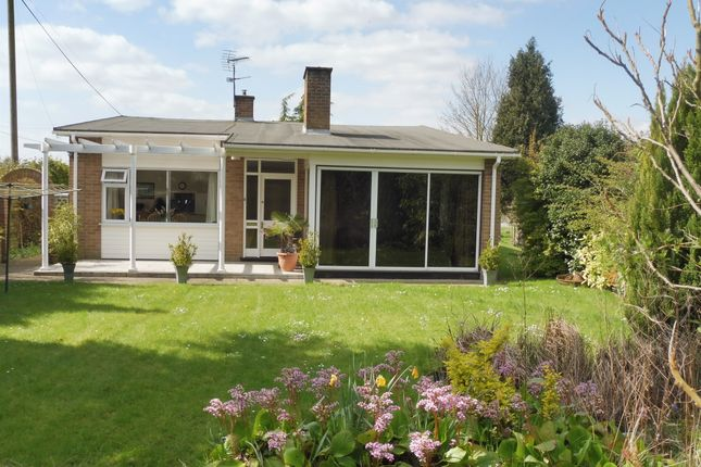 Thumbnail Detached bungalow for sale in Diss Road, Garboldisham, Diss