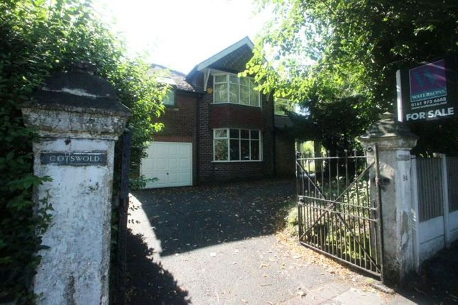 Thumbnail Detached house for sale in Temple Road, Sale