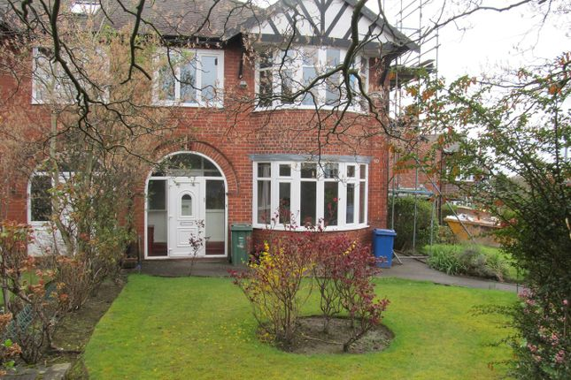 Thumbnail Semi-detached house to rent in Bishops Road, Prestwich, Manchester