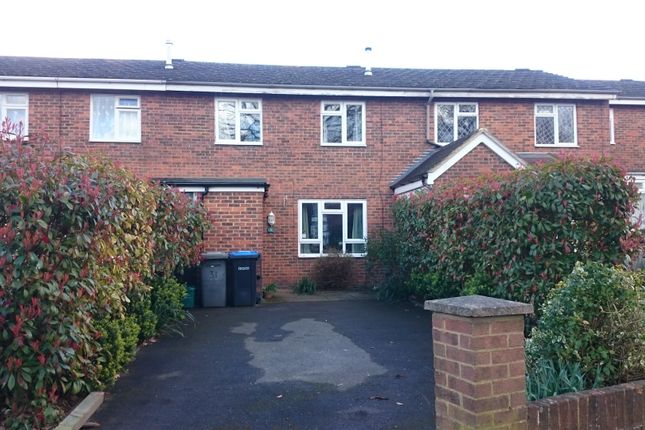 Thumbnail Terraced house for sale in Orchard Way, Addlestone