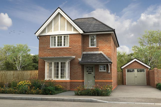 "Thumbnail Detached house for sale in ""The Heywood"" at Omega Boulevard, Warrington"