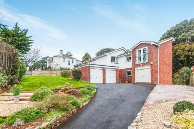 Thumbnail Detached house for sale in Exeter Road, Dawlish, Devon