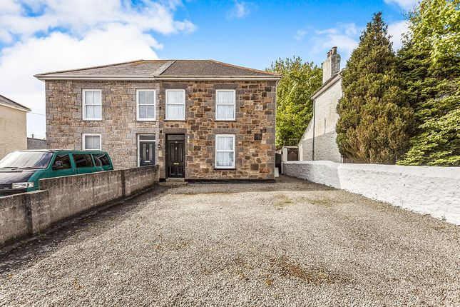 Thumbnail Semi-detached house for sale in Dolcoath Road, Camborne