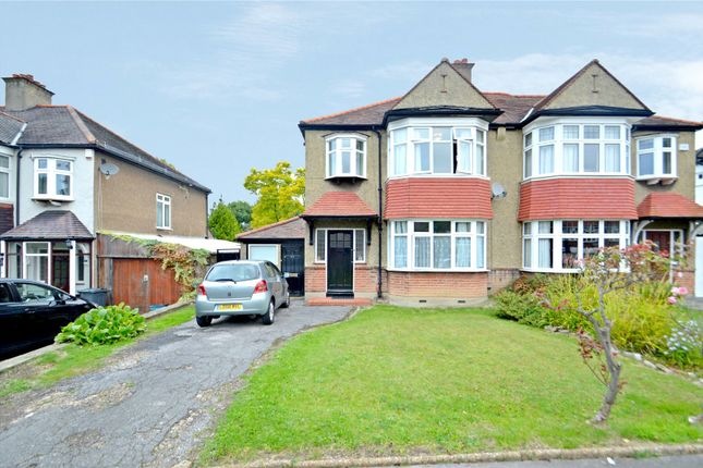 Thumbnail Semi-detached house for sale in Shirley Avenue, Croydon