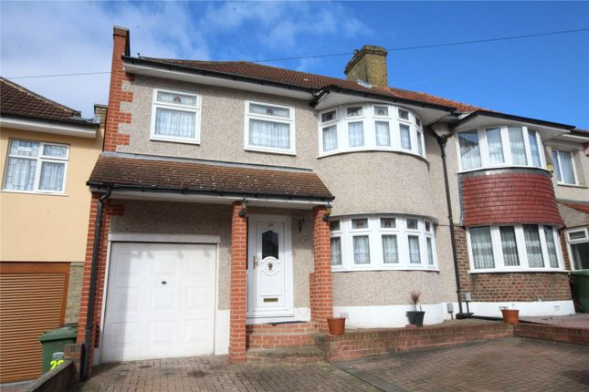 Thumbnail Semi-detached house for sale in Totnes Road, Welling, Kent