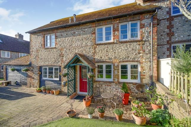 Thumbnail Semi-detached house for sale in Byre Cottages, Ovingdean Road, Ovingdean, Brighton